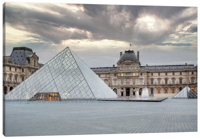 The Louvre Palace Museum II Canvas Art Print