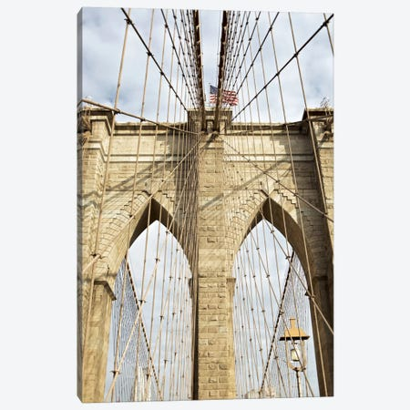 Brooklyn Bridge VII Canvas Print #BLA8} by Alan Blaustein Canvas Art Print