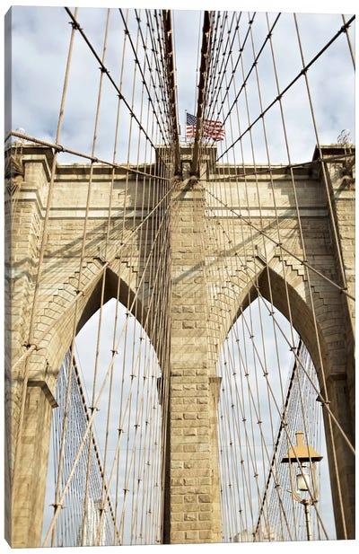 Brooklyn Bridge VII Canvas Print #BLA8