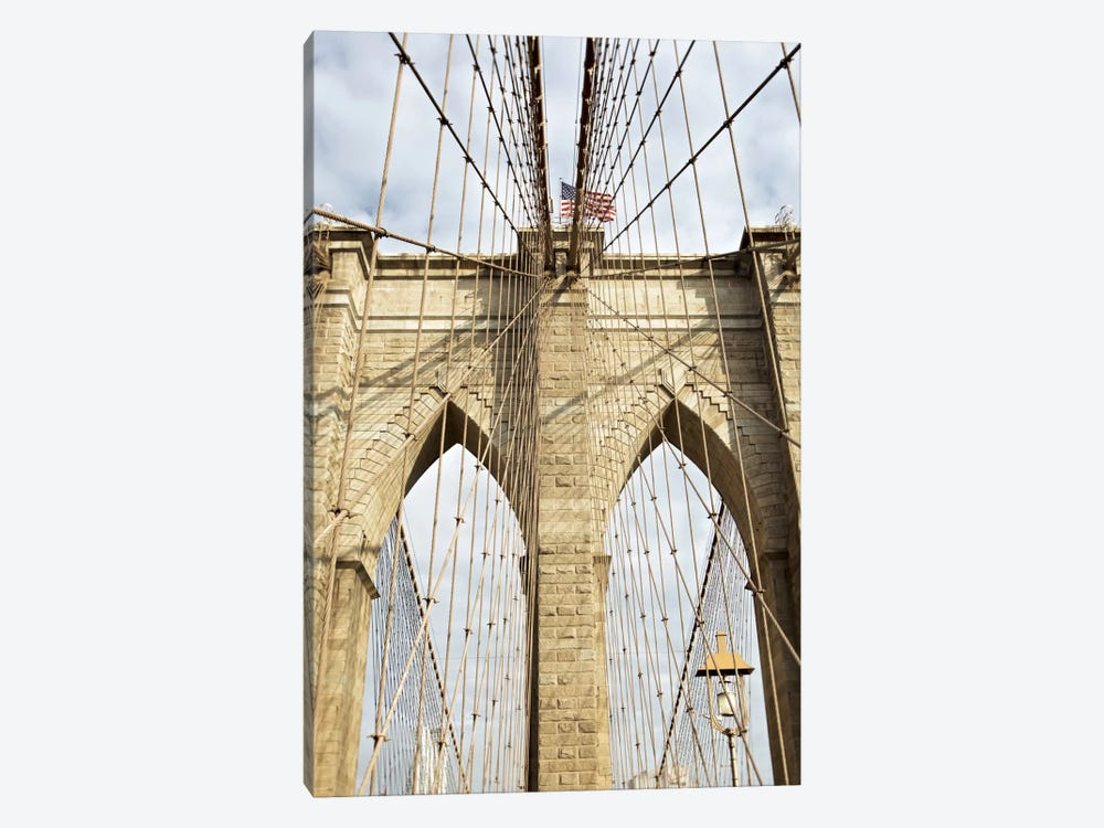 Brooklyn Bridge VII by Alan Blaustein 1-piece Canvas Artwork