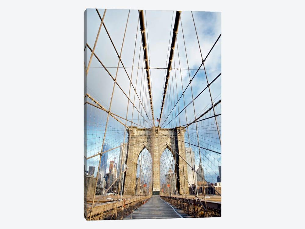 Brooklyn Bridge Walkway I by Alan Blaustein 1-piece Art Print