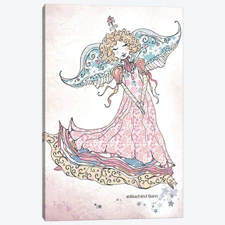 Whimsical Angel of Peace Canvas Print #BLB107} by Bluebird Barn Canvas Wall Art