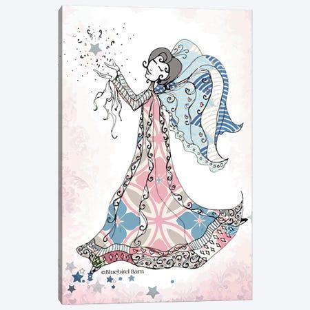 Whimsical Angel of Wonder Canvas Print #BLB108} by Bluebird Barn Canvas Print
