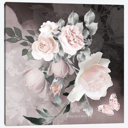 Noir Roses IV Canvas Print #BLB141} by Bluebird Barn Canvas Print