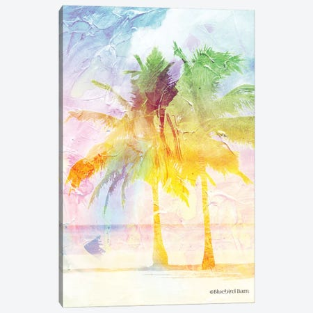 Bright Summer Palm Group II Canvas Print #BLB14} by Bluebird Barn Canvas Art Print