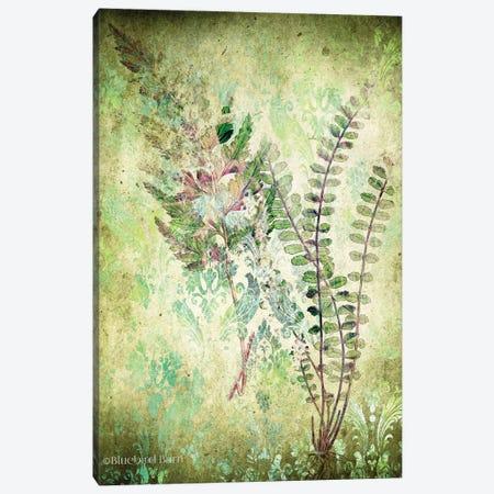 Organic Greenery in Damask I   3-Piece Canvas #BLB195} by Bluebird Barn Art Print