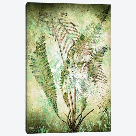 Organic Greenery in Damask II   Canvas Print #BLB196} by Bluebird Barn Canvas Print