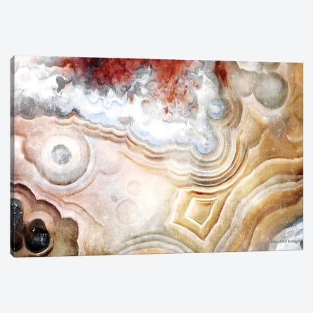 Agate Abstract Canvas Print #BLB214} by Bluebird Barn Canvas Art