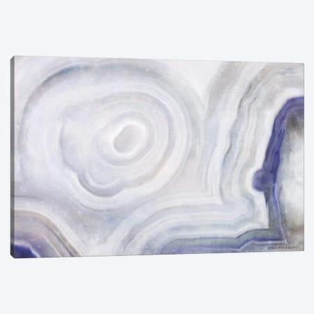 Agate Abstract Blue Canvas Print #BLB215} by Bluebird Barn Canvas Wall Art