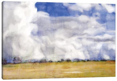 Big Blue Sky Canvas Art Print