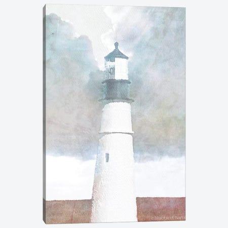 Morning Lighthouse Canvas Print #BLB227} by Bluebird Barn Art Print