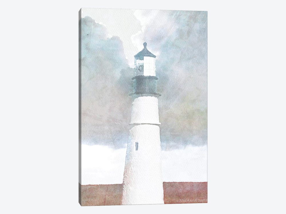 Morning Lighthouse by Bluebird Barn 1-piece Art Print