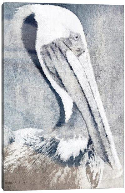 Pelican Canvas Art Print