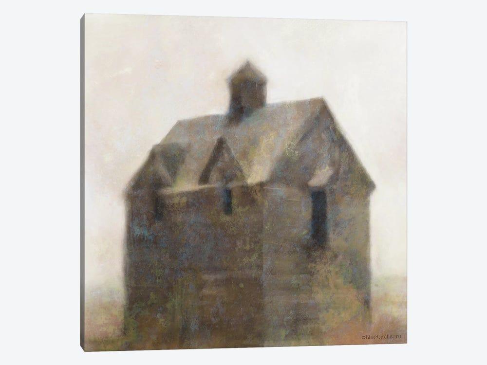 Rustic Old House by Bluebird Barn 1-piece Canvas Artwork