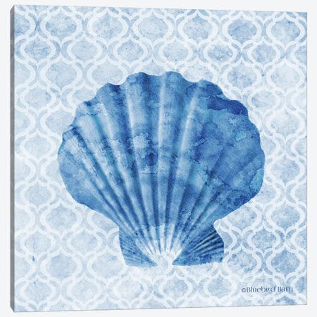 Seashell I Canvas Print #BLB237} by Bluebird Barn Canvas Wall Art