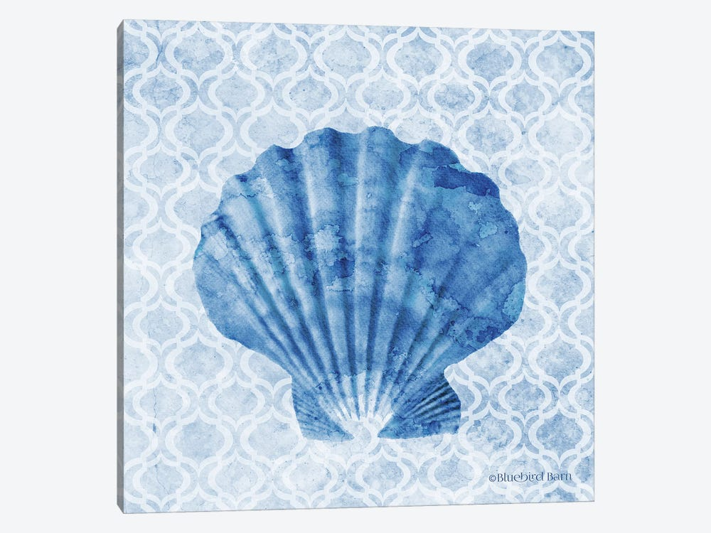 Seashell I by Bluebird Barn 1-piece Canvas Art