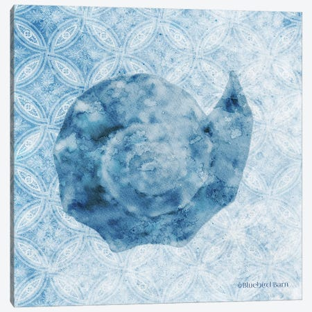 Seashell II Canvas Print #BLB238} by Bluebird Barn Art Print
