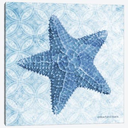 Starfish I 3-Piece Canvas #BLB240} by Bluebird Barn Canvas Art