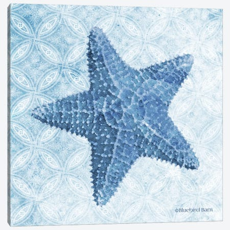 Starfish I Canvas Print #BLB240} by Bluebird Barn Canvas Art