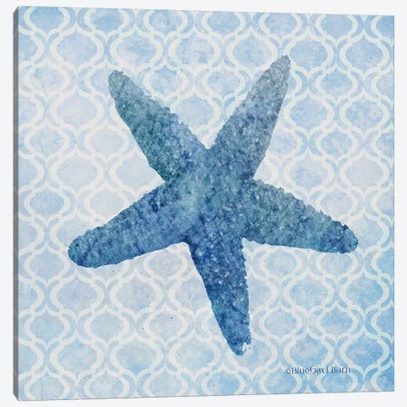 Starfish II Canvas Print #BLB241} by Bluebird Barn Canvas Art
