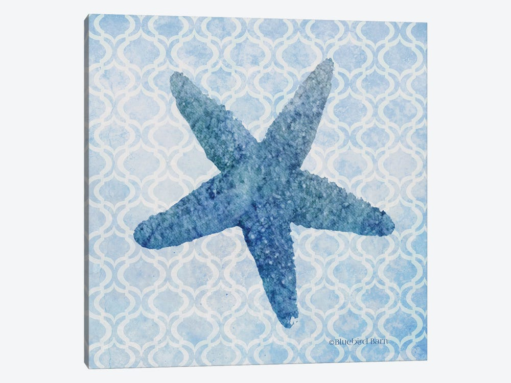 Starfish II by Bluebird Barn 1-piece Canvas Art Print