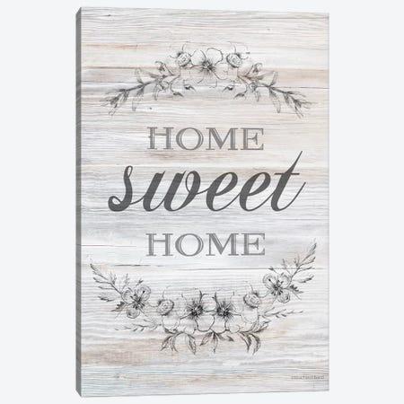 Home Sweet Home       Canvas Print #BLB277} by Bluebird Barn Canvas Wall Art