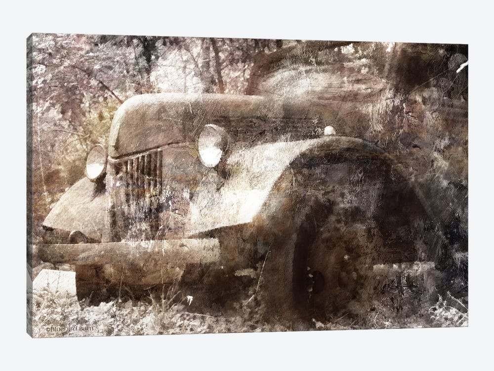 Vintage Truck by Bluebird Barn 1-piece Canvas Wall Art