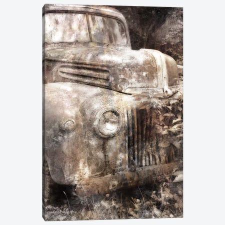 Vintage Truck Front Canvas Print #BLB280} by Bluebird Barn Canvas Artwork