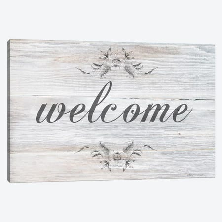 Welcome     Canvas Print #BLB281} by Bluebird Barn Canvas Art