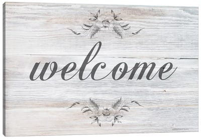 Welcome     Canvas Art Print