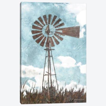 Windmill      Canvas Print #BLB282} by Bluebird Barn Canvas Art