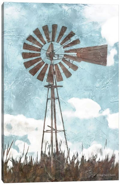 Windmill      Canvas Art Print