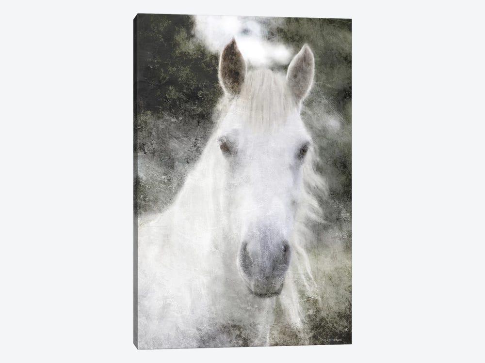 White Horse Mystique by Bluebird Barn 1-piece Art Print
