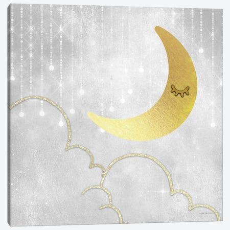 Gold Moon      Canvas Print #BLB292} by Bluebird Barn Canvas Art Print