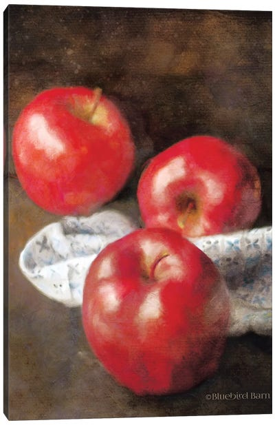 Apples and Quilt Canvas Art Print