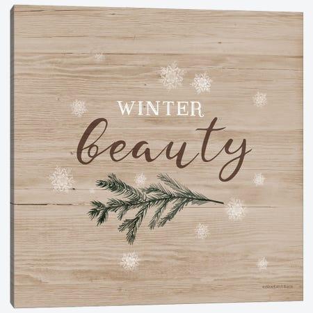 Winter Beauty I Canvas Print #BLB304} by Bluebird Barn Canvas Wall Art