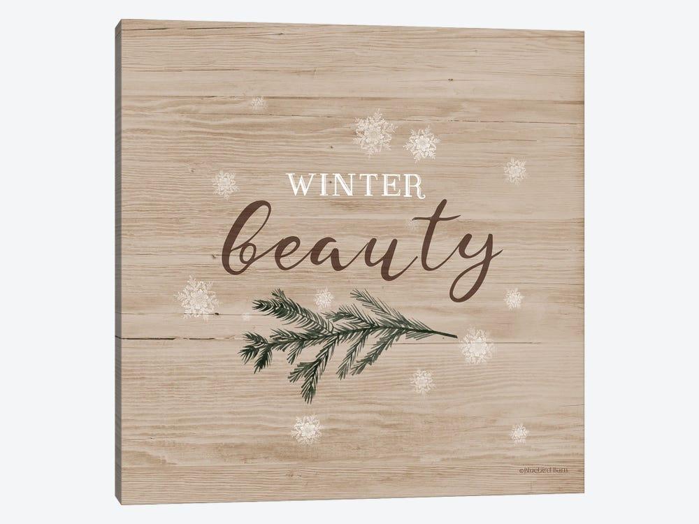 Winter Beauty I by Bluebird Barn 1-piece Canvas Art Print