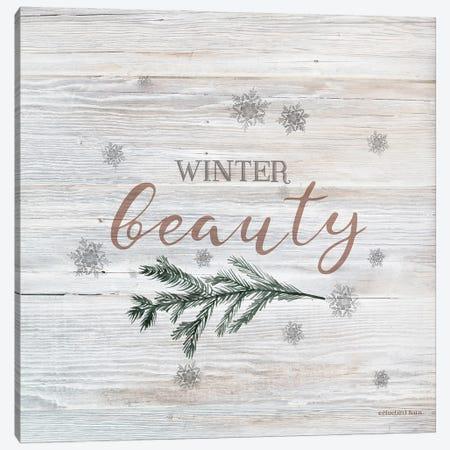 Winter Beauty II Canvas Print #BLB305} by Bluebird Barn Canvas Art