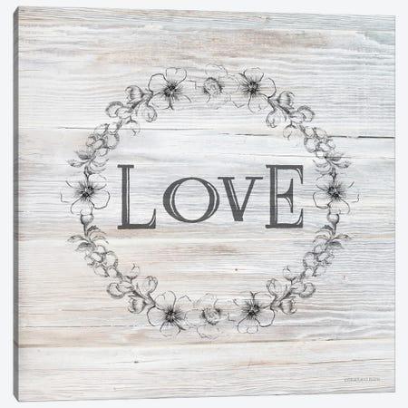 Love Canvas Print #BLB307} by Bluebird Barn Canvas Artwork