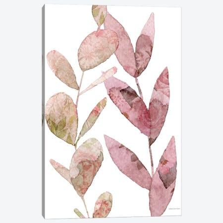 Meadow Flora Botanical I Canvas Print #BLB308} by Bluebird Barn Canvas Art Print