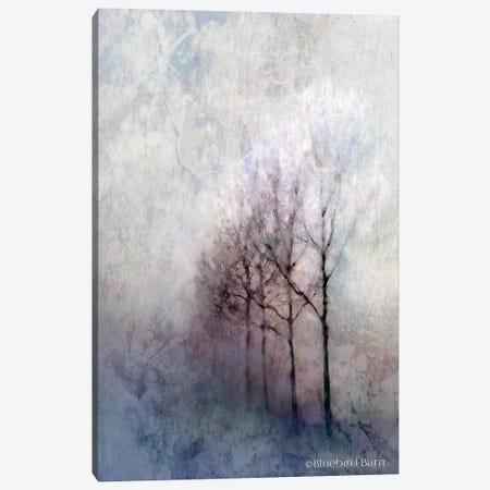 First Light Winter Forest Canvas Print #BLB33} by Bluebird Barn Canvas Wall Art