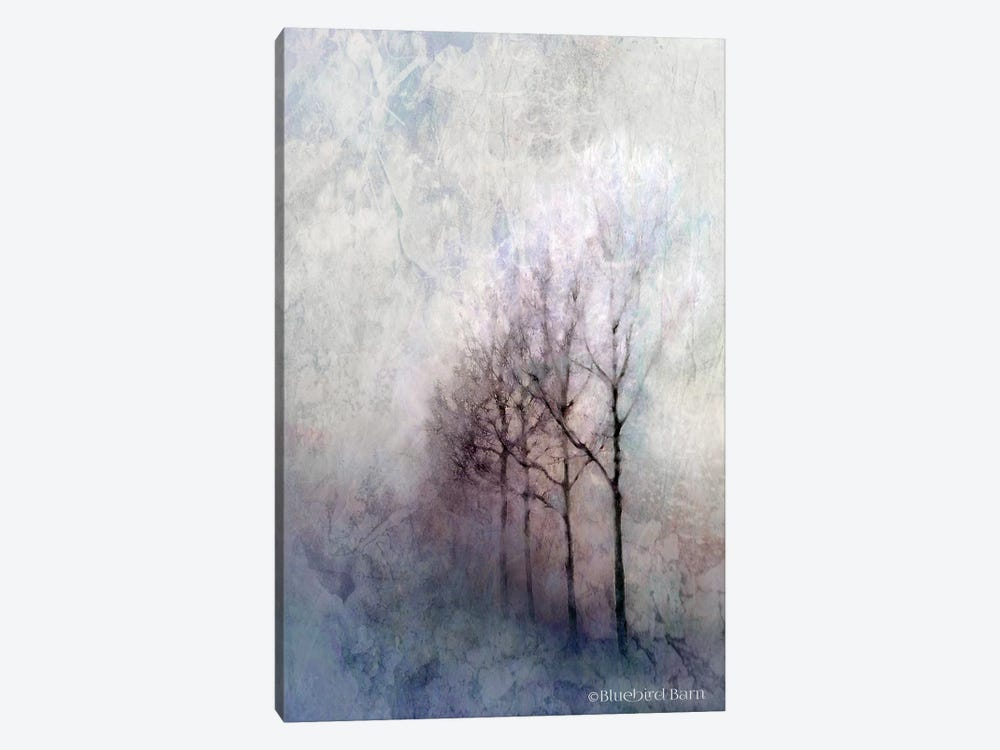 First Light Winter Forest by Bluebird Barn 1-piece Canvas Art