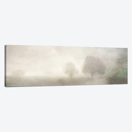 Foggy Soft Morning Landscape Canvas Print #BLB34} by Bluebird Barn Canvas Art Print