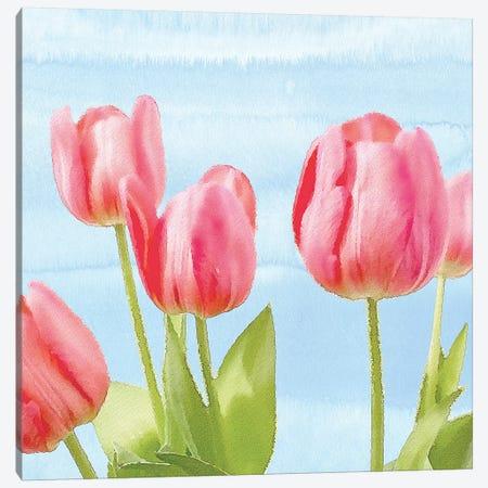 Fresh Spring Tulips I Canvas Print #BLB36} by Bluebird Barn Canvas Print