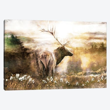 Heading Home Canvas Print #BLB44} by Bluebird Barn Canvas Wall Art