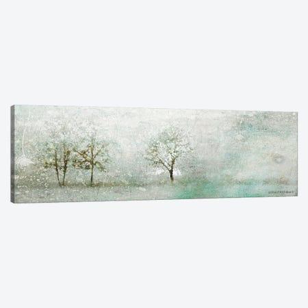 Light Winter Landscape 3-Piece Canvas #BLB51} by Bluebird Barn Canvas Artwork