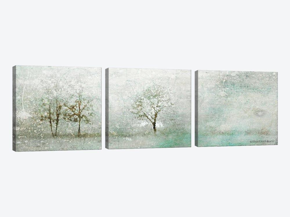 Light Winter Landscape by Bluebird Barn 3-piece Canvas Art
