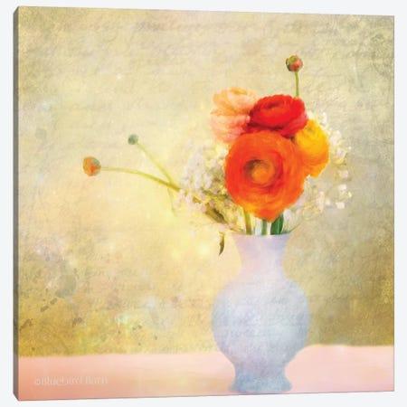 Love Me Tender Bouquet Canvas Print #BLB52} by Bluebird Barn Canvas Artwork