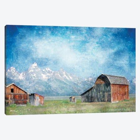 Montana Ranch Skies   Canvas Print #BLB60} by Bluebird Barn Canvas Print