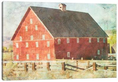 Big Red Barn     Canvas Art Print